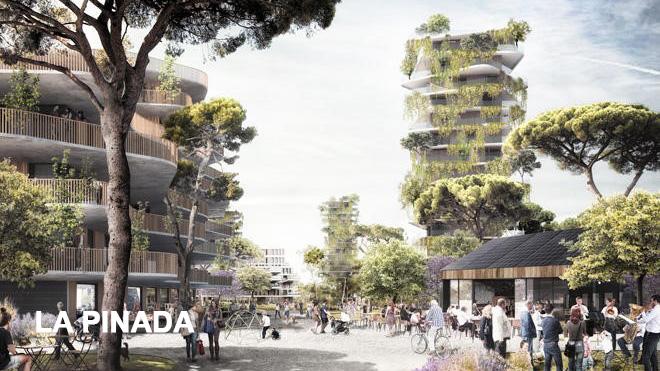Energeticky soběstačná část Valencie, ve které sousedé sdílejí energii.